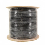 Cat6 Shielded Ethernet Cable 1000FT Outdoor Direct Burial 23AWG Pure Copper