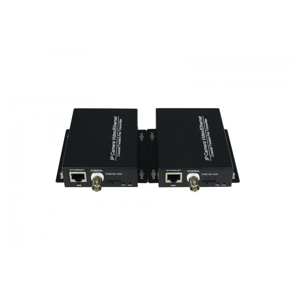 Active EOC Converter IP Over Coax , Data Transmission Over Regular RG59 coaxial