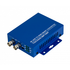 4 in 1 TVI/CVI/AHD to HDMI Video Adapter 8MP BNC 4K 1080P For CCTV Camera