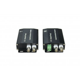 EOC (Ethernet Over Coax) & PoC (Power Over Coax) Adapter Converter for PoE IPC