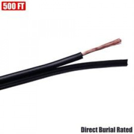 Low Voltage 12/2 Outdoor Landscape Lighting Wire DB UV Rated Cable 500FT