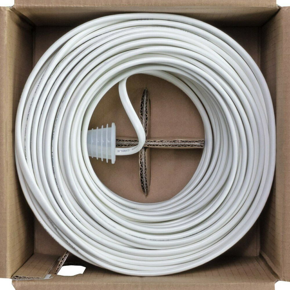 CL2-Rated Speaker Cable Wire Pull Box for In-Wall Installation 12/2 500ft