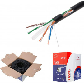 Direct Burial UTP Outdoor CAT6 Ethernet Cable Bulk wire