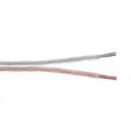 Indoor Transparent Speaker Wire CCA PVC Pull Box, 250ft