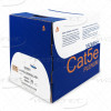 Cat5e Plenum Bare Copper 1000ft | Ethernet Cable 24AWG, UTP, CMP Rated | Blue