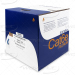 Cat6 Plenum Bare Copper 1000ft Bulk CMP Rated Cable 23AWG, UTP | UL Listed