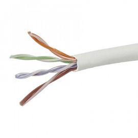 CAT5e 1000FT UTP Cable Solid 24AWG Network Ethernet LAN Bulk Wire RJ45 White, Blue