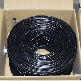 1000FT PVC CAT6 Ethernet Cable, Bulk wire, White, Blue, Black, Orange, Yellow